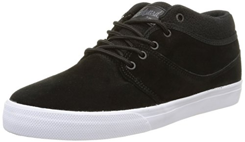 Globe Mahalo Mid Skateboard Skate Shoes Trainers - Black Jungle Black Jungle