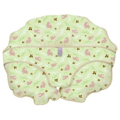 Leachco Cuddle-U Nursing Pillow Replacement Cover Green Bears 242173