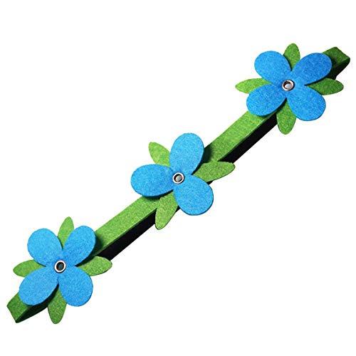4 Pack Trolls Poppy Flowers Headwrap Headband Non-Woven