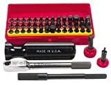 Wadsworth Ratchet Set Mini Super Deluxe 52 pc w/4 Tools