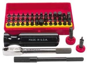 Wadsworth Ratchet Set Mini Super Deluxe 52 pc w/4 Tools, used for sale  Delivered anywhere in USA