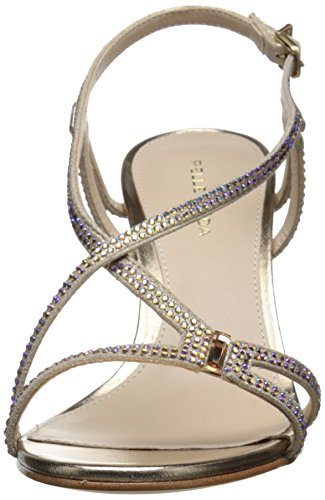 Pelle Ivan MS Sandal Dress Women's Gold Platinum Moda wwx4r1q6