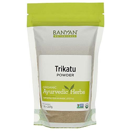 Banyan Botanicals Trikatu Powder - Certified Organic, 1/2 Pound - Kapha Digest - Digestion formula for kapha*