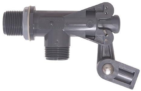 Kerick valve pt100ss pvc float valve tank mount 60 gpm at 60 psi