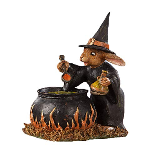 Rabbit Witch Figurine Decoration