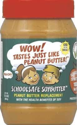 WOWBUTTER Peanut Free Soy Butter Spread - Crunchy - 17.6 oz