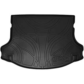 smartliner all weather cargo liner floor mat black for 2011 2014 hyundai sonata non. Black Bedroom Furniture Sets. Home Design Ideas