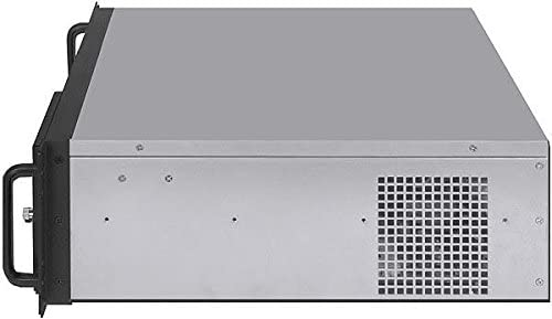 NO Power Supply,No Rail,No System and Case Only Fan LCD 14.96 Deep PLINKUSA RACKBUY 3U IPC-G3370S ATX//Micro-ATX//Mini ITX 3x5.25+7x3.5 HD Rackmount Chassis
