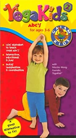 Amazon.com: Yoga Kids:a B Cs Vol 2 [VHS]: Marsha Wenig ...