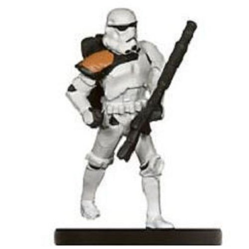 Star Wars Miniatures: Sandtrooper Officer # 18 - Imperial Entanglements