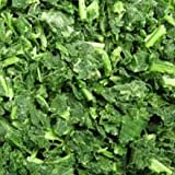 Simplot IQF Chopped Spinach - 20 lb. package, 1 package per case