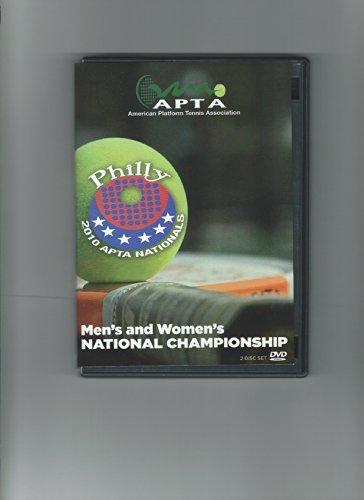2010 American Platform Tennis Association Men's and Women's National Championships – Philadelphia Pa (Apta Platform Tennis)