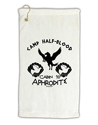 [TooLoud Cabin 10 Aphrodite Camp Half Blood Micro Terry Gromet Golf Towel 11