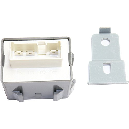 Relay compatible with Honda Civic 92-00 / INTEGRA 94-01 7 Male Terminals Blade Type w/Mounting Bracket 12 Voltage