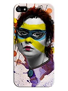 iphone 5/5s skin Soft Case Cover fits for Creative Collage Arts For Girl (Laser Technology) LarryToliver #5 wangjiang maoyi