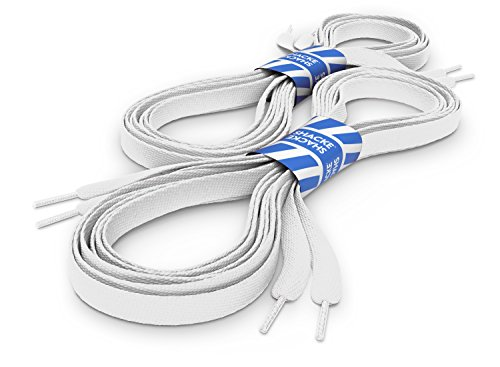 white-flat-shoelaces-5-16-shoe-laces-for-sneakers-and-converse-2-pack-54-inches-137-cm