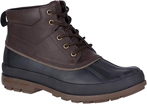 Sperry Mens Cold Bay Chukka Boots, Amaretto/Black, 10