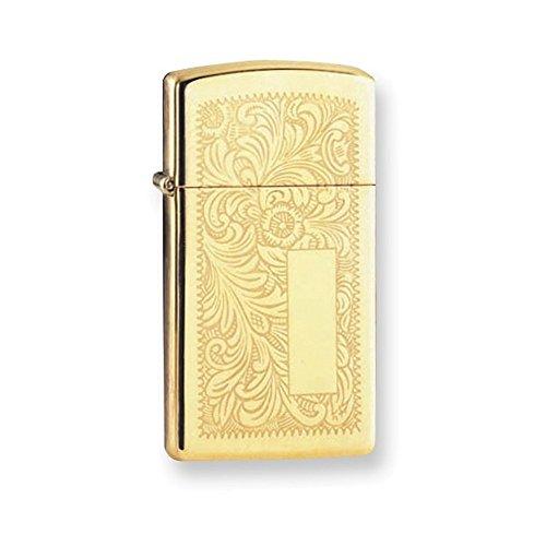 (Zippo Venetian High Polish Brass Lighter)