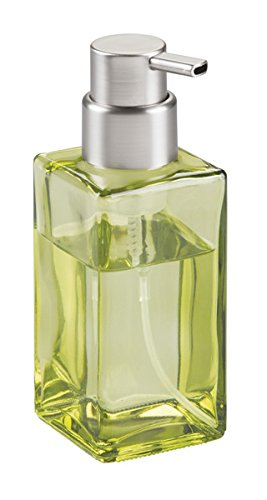 mDesign Dispensador de jabón en espuma rellenable de 414 ml – Refinado dosificador de jabón de