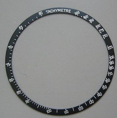 Bisel Insertar para Omega Speedmaster 321, 145.022, 145.012 BLK: Amazon.es: Relojes