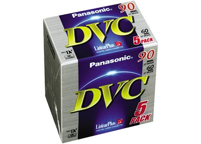 Panasonic DVC Tape 60 minute 3 Pack