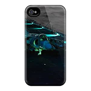 Anti-scratch And Shatterproof Av8b Harriers Phone Case For Iphone 4/4s/ High Quality Tpu Case