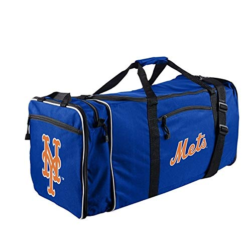 The Northwest Company Officially Licensed MLB New York Mets Steal Duffel Bag, 28'' x 11'' x 12''