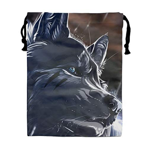 Animal Wolf Backpack for Women & Girls Casual