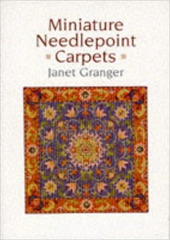 415ab0bba9e8d Miniature Needlepoint Carpets  Janet Granger  9781861080233  Amazon.com   Books