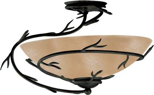 Kenroy Home 90905BRZ Semi Flush Bronze