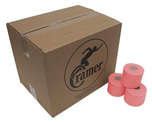 "Cramer Tape Underwrap, Bulk Case of 48 Rolls of PreWrap for Athletic Taping, Hair Tie, Headband, Patellar Support, Pre-Wrap Athletic Tape Supplies, 2.75"" X 30 Yard Rolls of Pre Wrap"