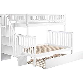 Amazon Com Atlantic Furniture Woodland Staircase Bunk