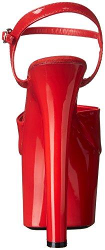 Sandalias Ellie Zapatos Mujeres 711 Flirt Platform Rojo / Rojo