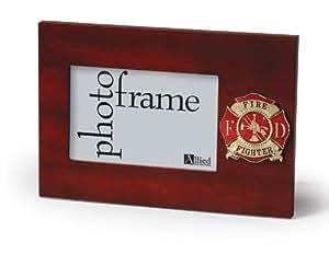 Allied Frame Fire Fighter Desktop Picture Frame