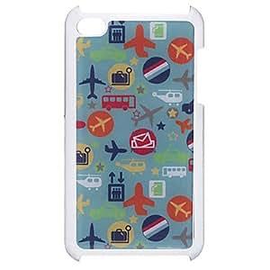 Estilo de dibujos animados Planes patrón caso duro epoxi para iPod Touch 4