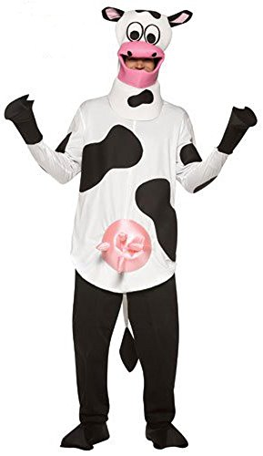 [Teen LW Cow Costume Size: Teen 12-16] (Cow Hooves Costume)