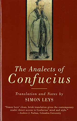 The Analects of Confucius (Norton Paperback)