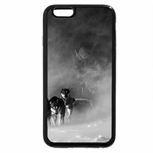 """iPhone 6S Plus Case, iPhone 6 Plus Case (Black & White) - """"The Race is on""""!!!!"""