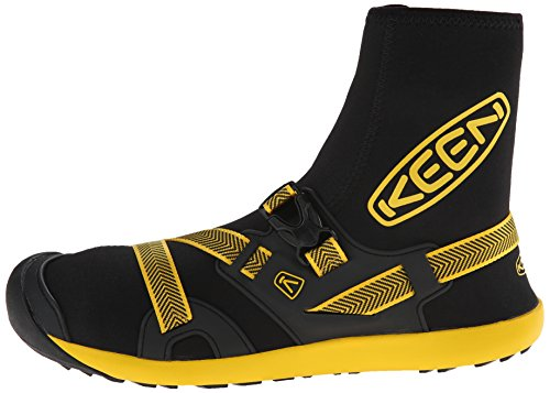 67f6f79071 KEEN Men's Gorgeous Water Boot, Black/Yellow, 13 M US: Buy Online at Low  Prices in India - Amazon.in