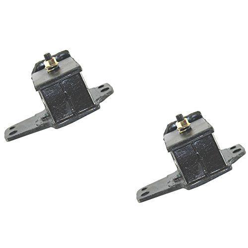 CF Advance For 86-97 Nissan 720 D21 Pickup 2.4L L4 Front Left and Front Right Engine Motor Mount Set 2pcs 1986 1987 1988 1989 1990 1991 1992 1993 1994 1995 ()