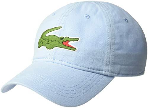 Lacoste Mens Big Croc' Gabardine Cap, Creek, ONE
