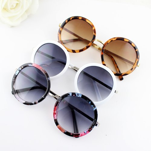 2014 Spring Design Pc Lens Colorful Trendy Acetate Frames Sunglasses with Glasses Box for Beauty - 2014 Sunglasses Trendy