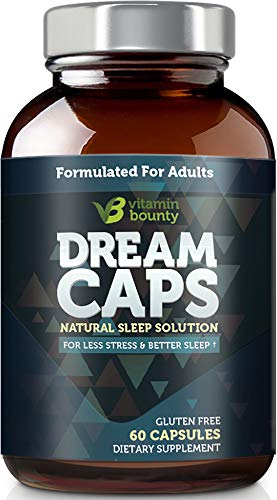 Vitamin Bounty Natural Sleep Aid - Dream Caps, All Natural & Non Habit Forming