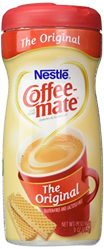 NESTLE COFFEE-MATE Coffee Creamer, Original, 11oz powder creamer, Pack of 6