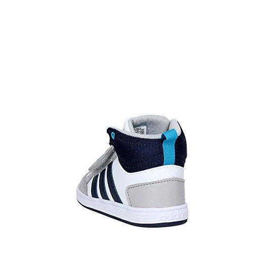 Adidas B74659 Zapatillas De Deporte Boy Cuero Sintético Blanco Weiß (Weiß)