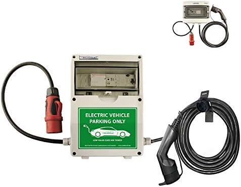 Wb24 Wallbox 3 Phasig 400v 11kw 16a Typ 2 5m Ladestation Für Elektro Hybridautos Auto