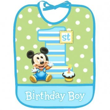 Mouse Birthday Bib - 5
