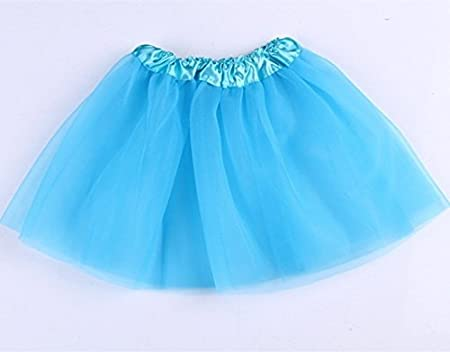 5Five Fashion Girl Vestido de Baile Ballet Falda Gasa Corto ...