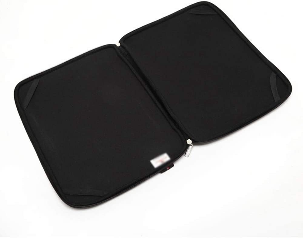 Hexiaoyi New Waterproof Notebook Dustproof Color : Black, Size : 13inch Anti-Scratch Computer Shockproof