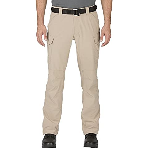5.11 Men's Traverse 2.0 EDC Pants, Khaki, 34W-34L